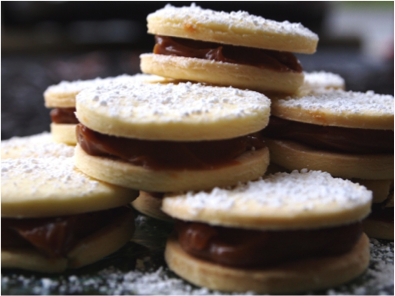 Dulce de leche in Alfajor